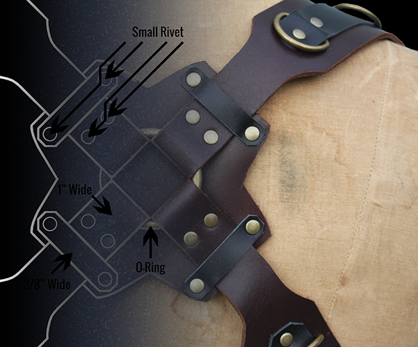 intro image of signature harness as partial blueprint